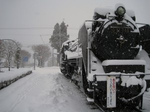 Snow Train Coming
