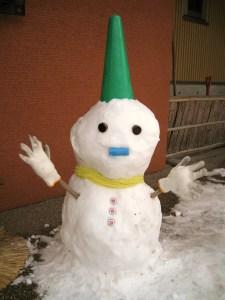 gynecologist snowman