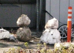 dirty old snowmen!