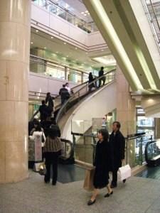 amazing curved escalator