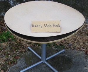 Barry Un's Table