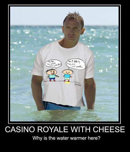 Accidents Happen When Bond Is Around!
