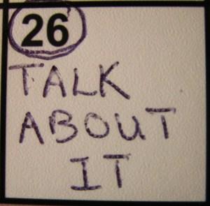 """Talk About It"" from Kelly Pettit's ""FUEL"""