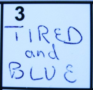 """""""Tired and Blue"""" from Kelly Pettit's """"FUEL"""""""