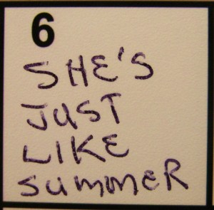"""""""She's Just Like Summer"""" from Kelly Pettit's """"FUEL"""""""