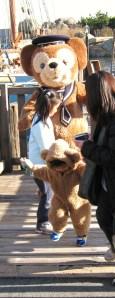 Duffy Bear beats Duffy Wannabe Kid