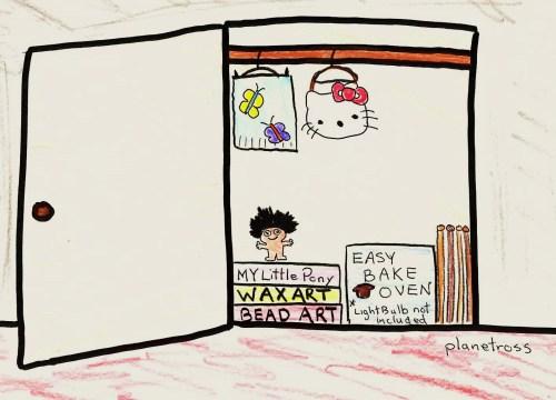 Walter's closet
