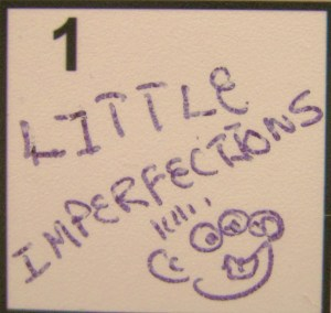 """""""Little Imperfections"""" from Kelly Pettit's """"FUEL"""""""