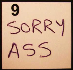 """""""Sorry Ass"""" from Kelly Pettit's """"FUEL"""""""