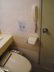 this toilet will self-flush in 5 seconds ... good luck planetross.