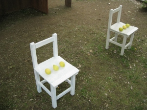 I've been looking for lemons on chairs!