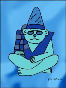 All Behold The Blue Monkey!