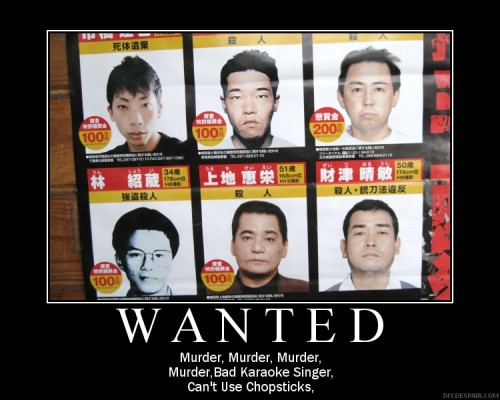 the police had to wait a whole year to get 6 murderers on their poster