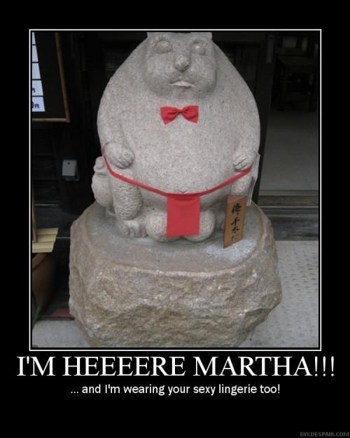 Istatyou Martha?