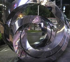 swirly whirly stuff in Hiroshima