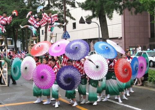 Street Dance festival in Kanazawa city
